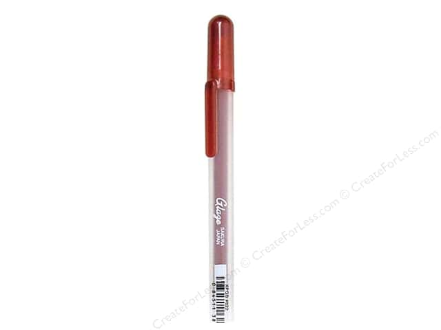 Sakura Glaze 3-D Glossy Ink Pen Real Red
