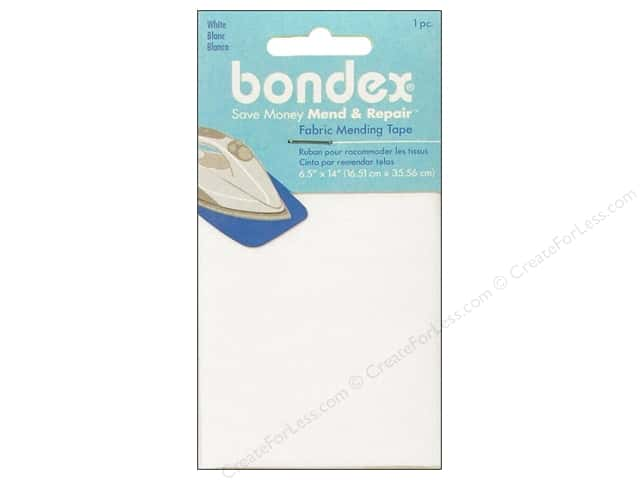 Bondex Iron On Tape 6 1/2 x 14 in. White