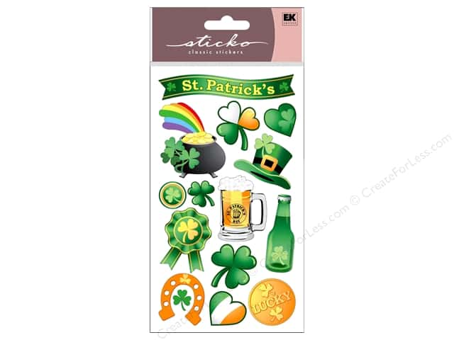 EK Sticko Stickers St Patrick's Day