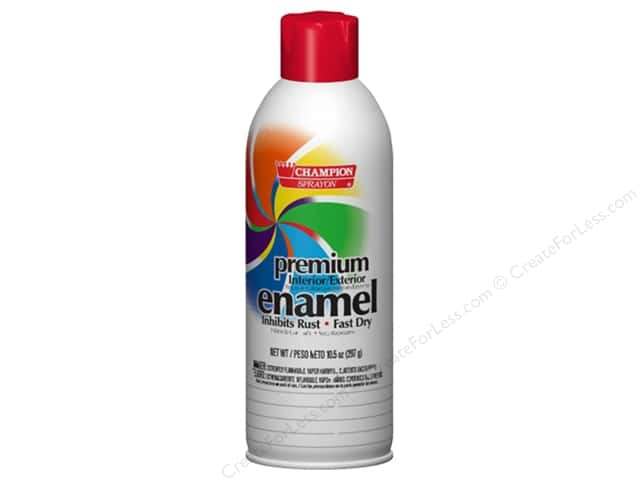 Chase Champion Premium Enamel Spray Paint 10.5 oz. Gloss Candy Apple Red