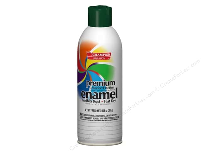 Chase Champion Premium Enamel Spray Paint 10.5 oz. Gloss Forest Green