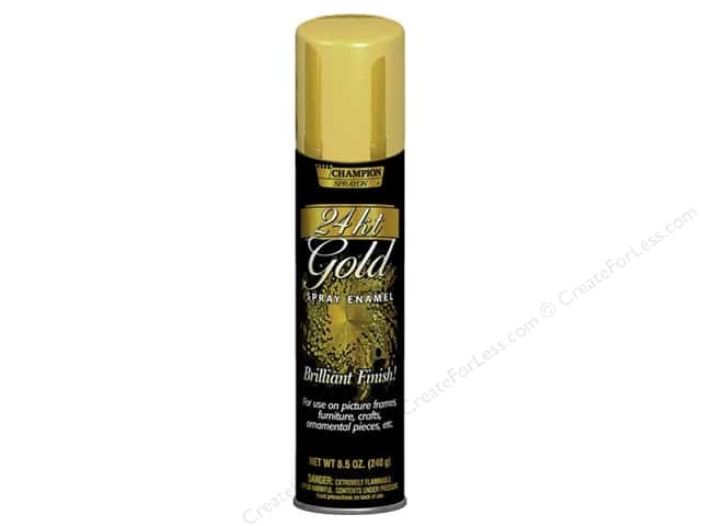 Chase Champion Metallic Spray Paint 8.5 oz. 24 Kt. Gold