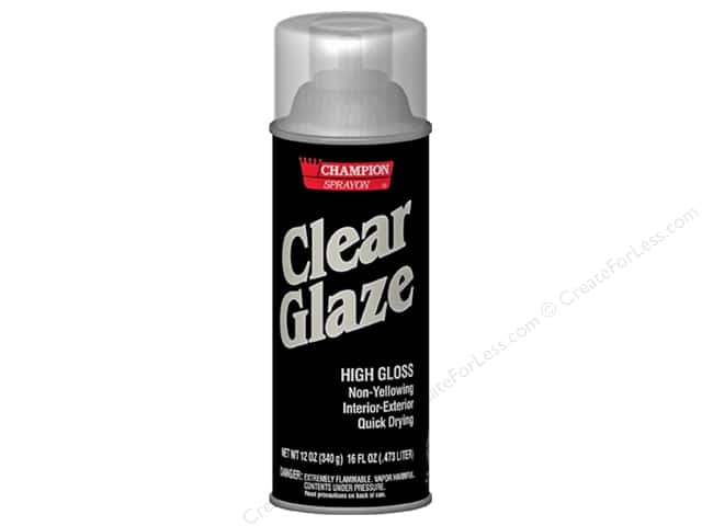 Chase Champion Clear Glaze 12 oz.