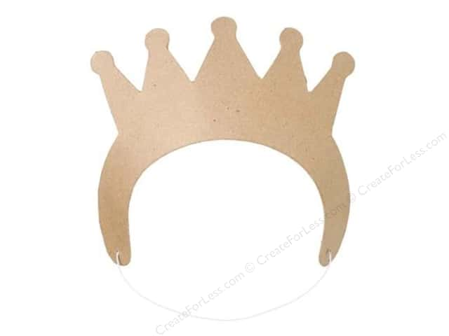 Darice Paper Mache Crown 8 3/4 x 3 in.
