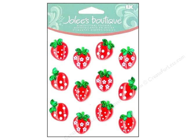 Jolee's Boutique Cabochons Strawberry