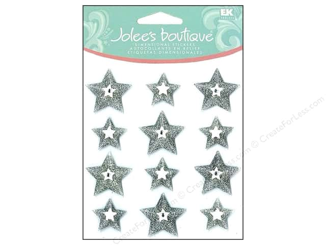 Jolee's Boutique Cabochons Silver Stars
