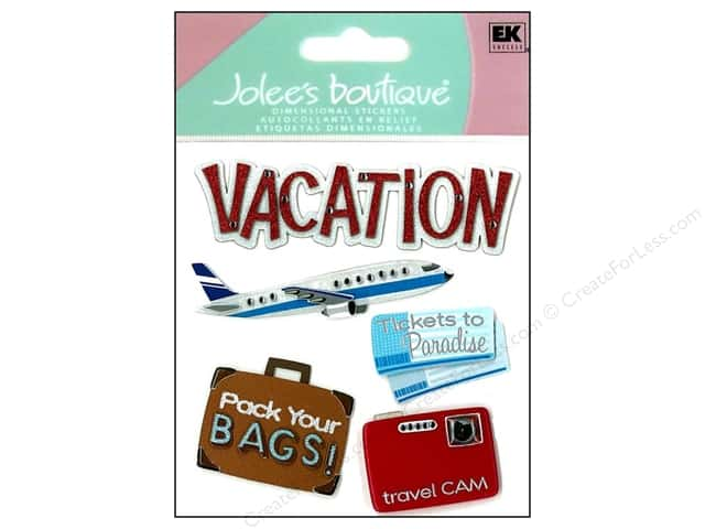 Jolee's Boutique Stickers Vacation