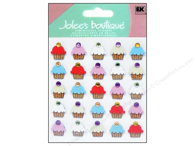 Jolee's Boutique Stickers Repeats Cupcakes