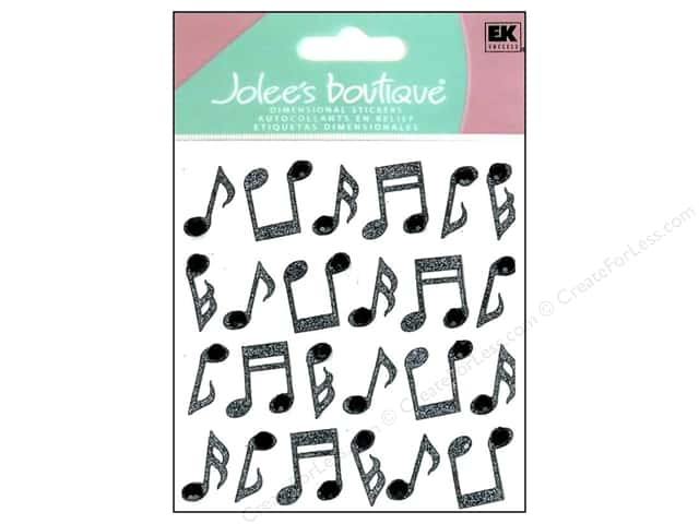 Jolee's Boutique Stickers Repeats Music Notes