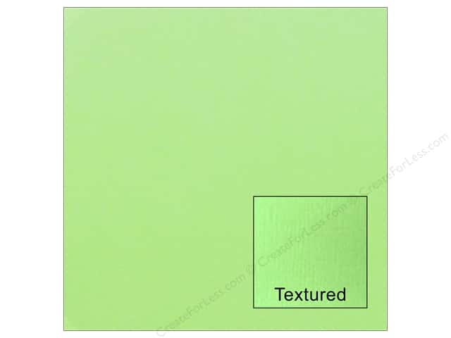American Crafts 12 x 12 in. Cardstock Textured Spearmint (25 sheets)
