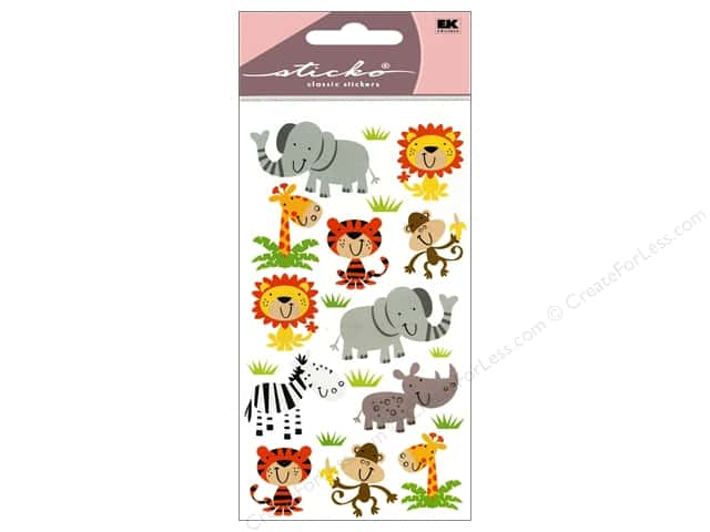EK Sticko Stickers Zoo Cuties