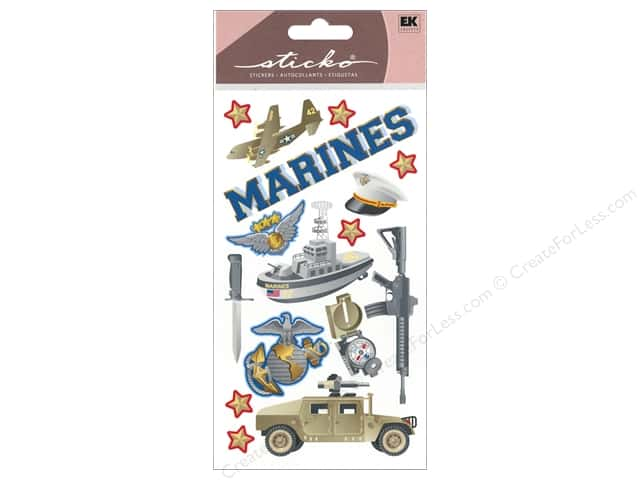 EK Sticko Stickers Marines