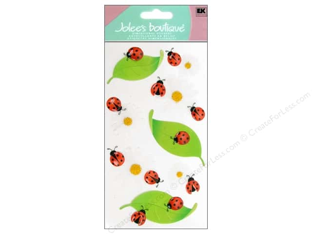 Jolee's Boutique Stickers Vellum Ladybugs