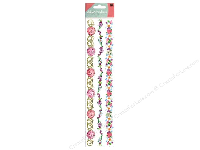 Jolee's Boutique Stickers Borders Wedding Bouquet