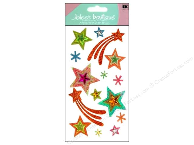 Jolee's Boutique Stickers Vellum Stars