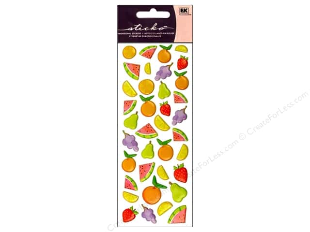 EK Sticko Stickers Fruit Icons
