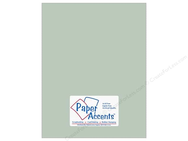 Paper Accents Cardstock 8 1/2 x 11 in. #18029 Smooth Sea Salt (25 sheets)