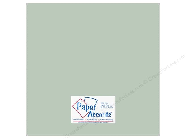 Paper Accents Cardstock 12 x 12 in. #18029 Smooth Sea Salt (25 sheets)