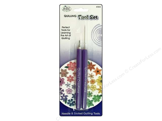 Quilled Creations Tools Tool Set Needle/Slotted