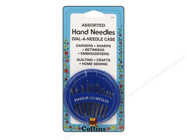 Hand Needles Assorted by Collins 30 pc.