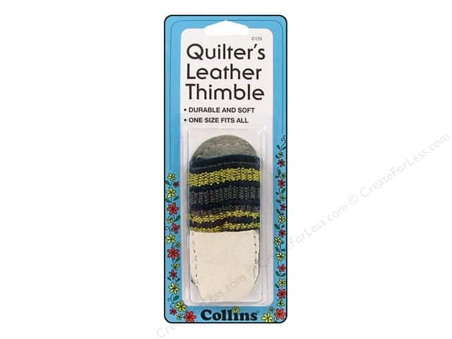 Quilter's Leather Thimble by Collins