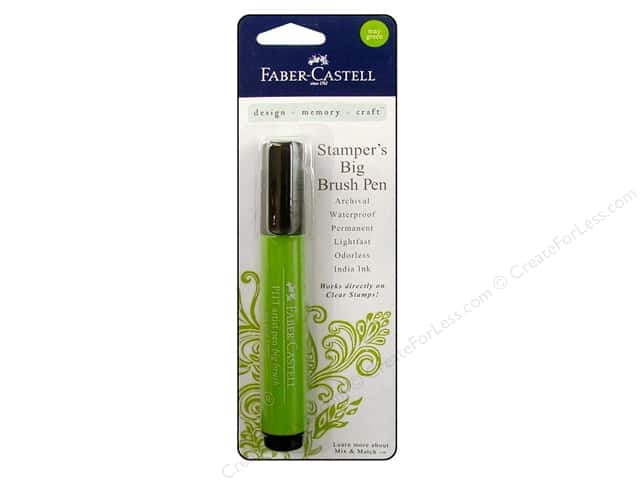 FaberCastell Stamper's Big Brush Pen May Green