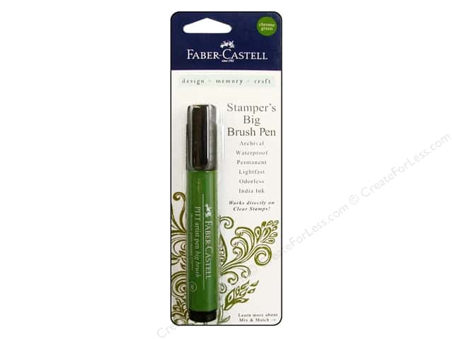 FaberCastell Stamper's Big Brush Pen Chrome Green