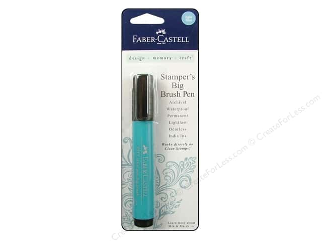 FaberCastell Stamper's Big Brush Pen Light Blue