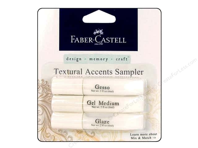 FaberCastell Textural Accents Sampler