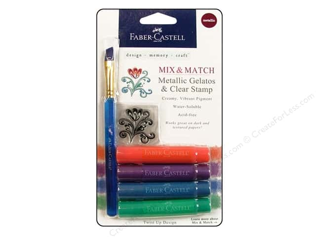 FaberCastell Gelatos Color Set 4 pc. Metallic