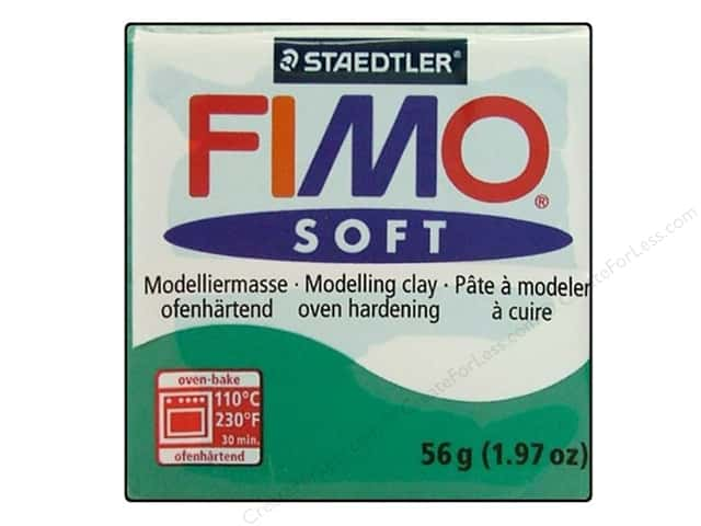 Fimo Soft Clay 2 oz. Emerald