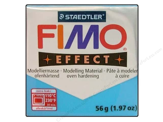 Fimo Soft Clay 2 oz. Transparent Blue