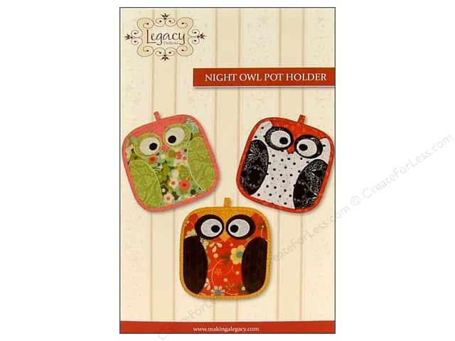 Legacy Night Owl Pot Holder Pattern