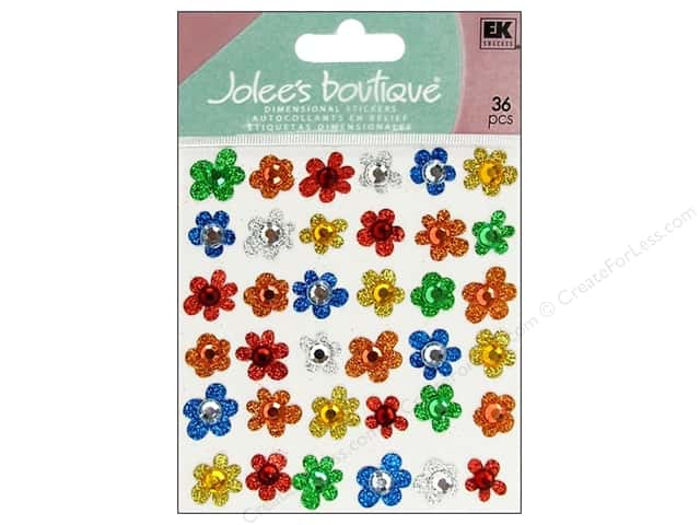 Jolee's Boutique Stickers Repeats Kids Gems Flowers