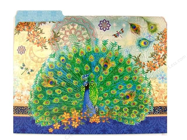 Punch Studio File Folder Royal Peacock (10 pieces)