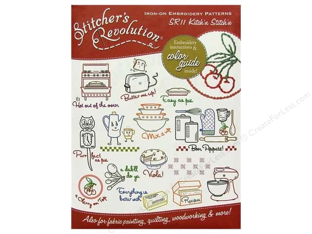 Stitcher's Revolution Iron On Transfer Kitch'n Stitch'n