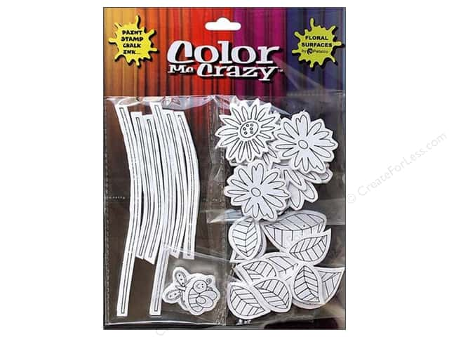 Petaloo Sticker Color Me Crazy 3D Silhouettes Loose Flower