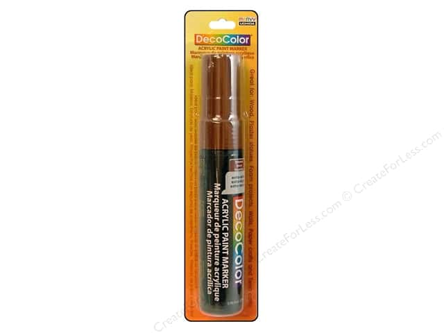 Uchida DecoColor Acrylic Paint Marker Jumbo Brown