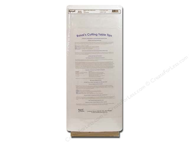 Bosal Interfacing Non Woven Fusible Medium Weight 20 in. x 40 yd. White (40 yards)