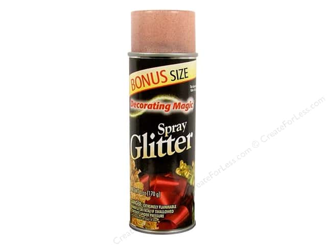 Chase Decorating Magic Spray Glitter 6 oz. Red