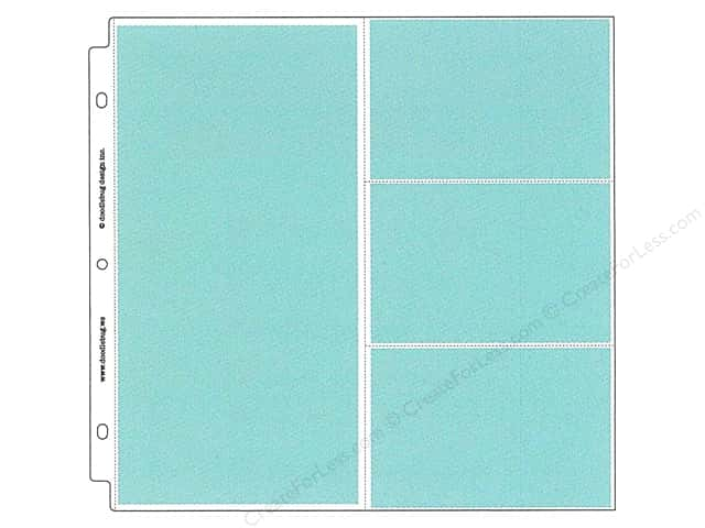 Doodlebug Album Protector Page 12 in. x 12 in. Combo