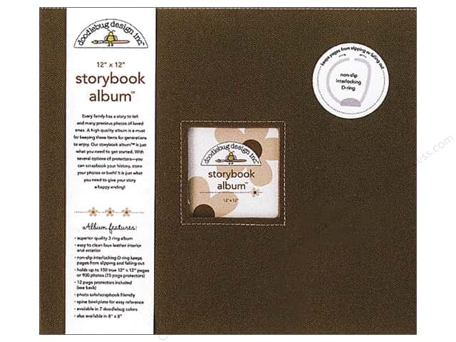 Doodlebug 12 x 12 in. Storybook Album Bon Bon