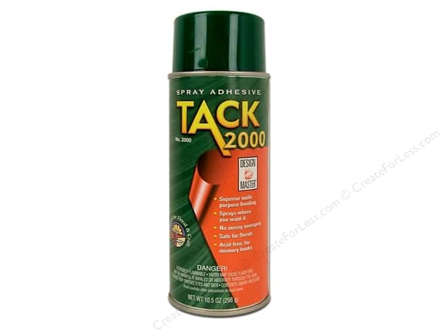 Design Master Spray Adhesive Tack 2000 10.5oz