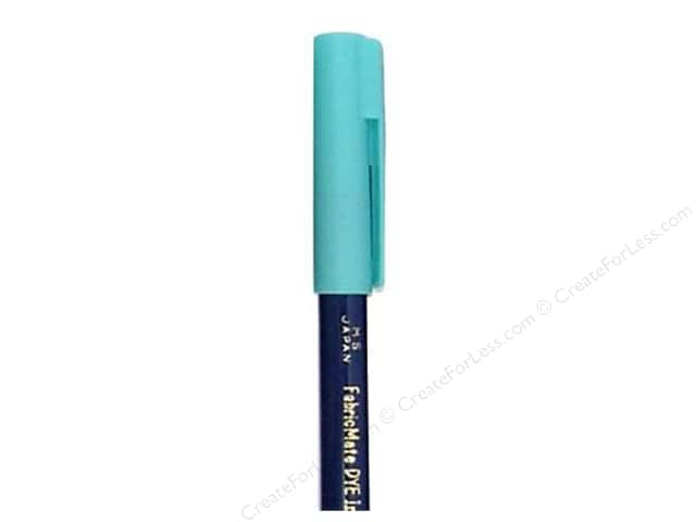 FabricMate Fabric Markers Brush Tip Short Turquoise