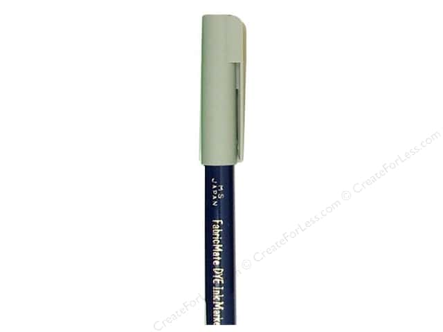 FabricMate Fabric Markers Brush Tip Short Barrel Mist Grey