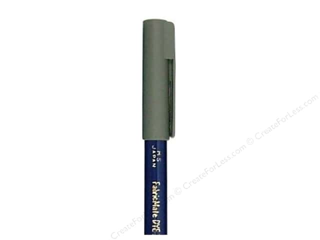 FabricMate Fabric Markers Brush Tip Short Barrel Grey