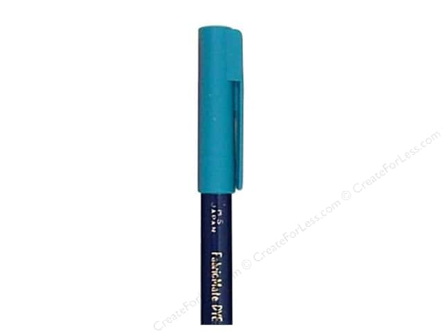 FabricMate Fabric Markers Brush Tip Short Barrel Peacock Blue