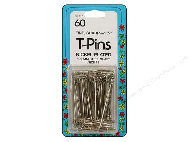 T-Pins by Collins 1 3/4 in. 60 pc.