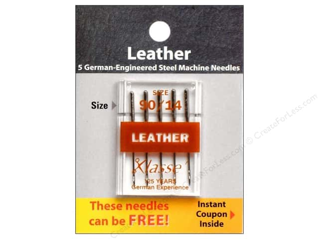 Klasse Leather Machine Needle Size 90/14 5 pc.