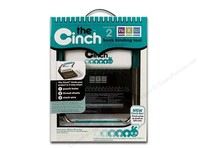We R Memory Keepers The Cinch Book Binding Tool 2.0
